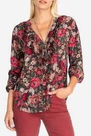 Johnny Was FE Ruffle Shirt - Front cropped