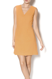 Esley Collection Orange Lace Dress - Product Mini Image