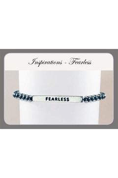 Savvy Designs Fearless Hematite Bracelet - Alternate List Image