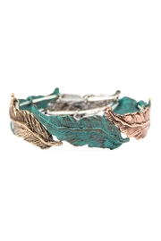 Riah Fashion Feather-Cast Stretch-Bracelet - Product Mini Image