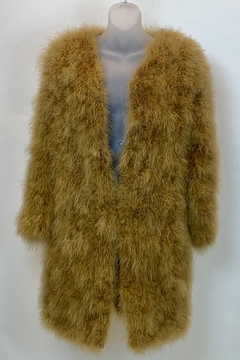 GERMAN FUENTES FEATHER COAT - Product List Image