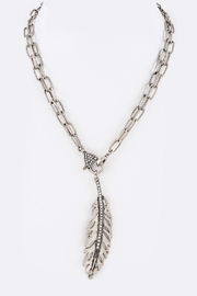 Nadya's Closet Feather Convertible Necklace - Product Mini Image