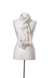 Giftcraft Inc.  Feather Design Scarf - Product Mini Image