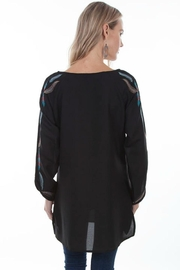 Scully Feather Folklore Shirt - Front full body