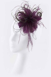 Nadya's Closet Feather Hair Clip - Front cropped