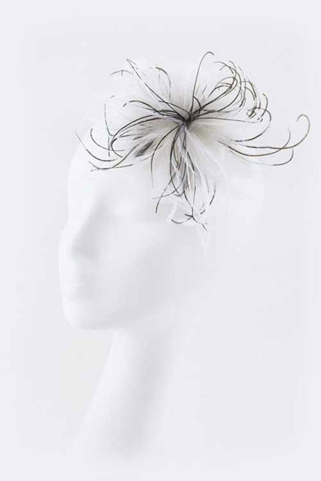 Nadya's Closet Feather Hair Clip - Front Cropped Image