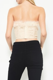 TIMELESS Feather Lace Top - Side cropped