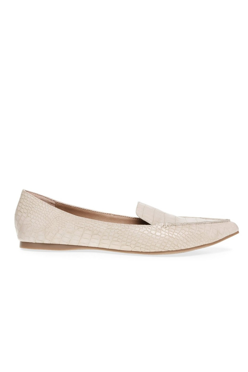 Steve Madden Feather Pointed Flat - Back Cropped Image
