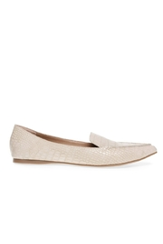 Steve Madden Feather Pointed Flat - Back cropped