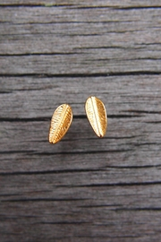 Wild Lilies Jewelry  Feather Stud Earrings - Product Mini Image