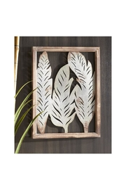 Gift Craft Feather Wall Decor - Product Mini Image