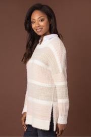 Simply Noelle Feather Weather Sweater - Front full body