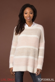 Simply Noelle Feather Weather Sweater - Front cropped