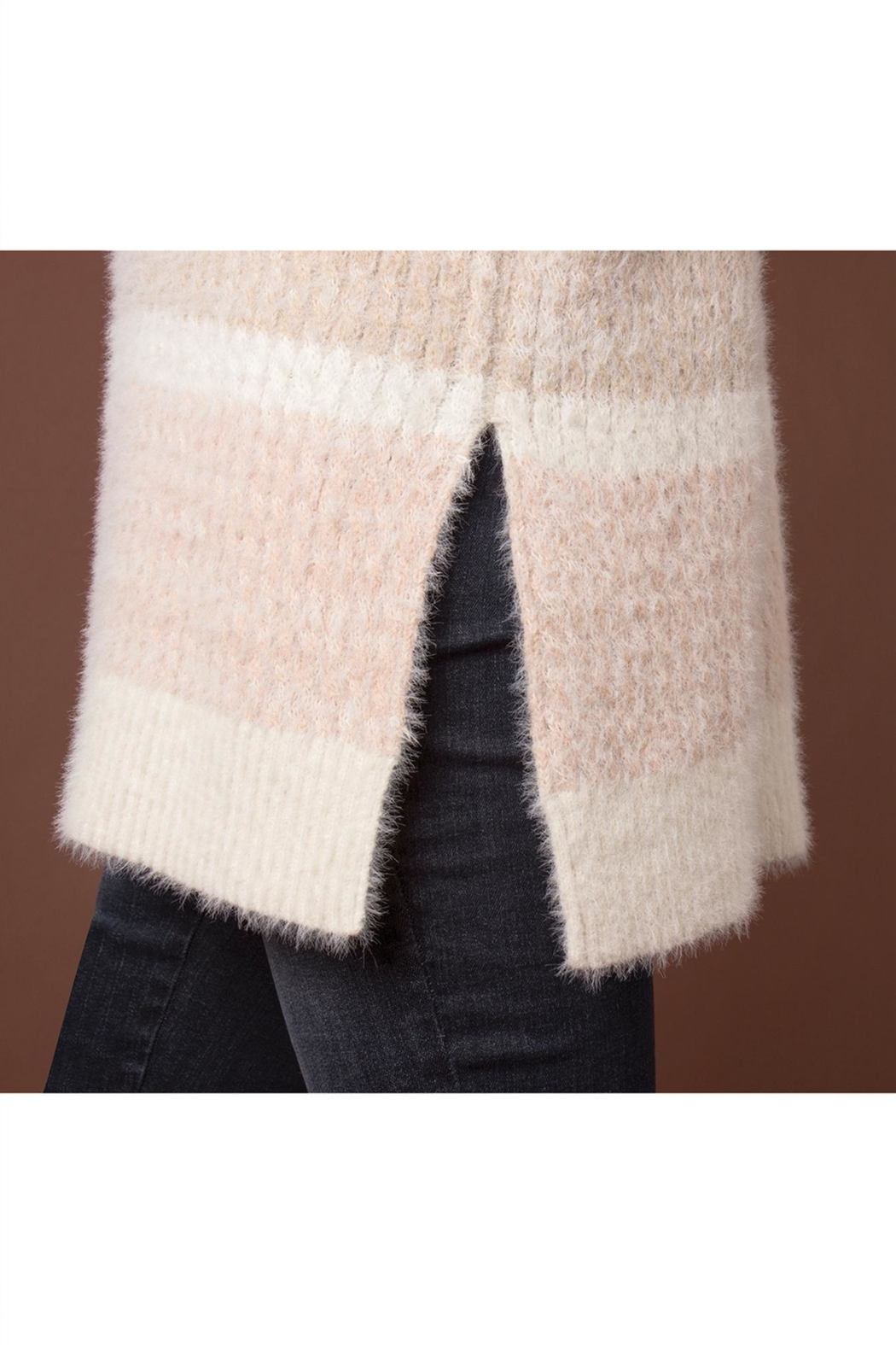 Simply Noelle Feather Weather Sweater - Back Cropped Image