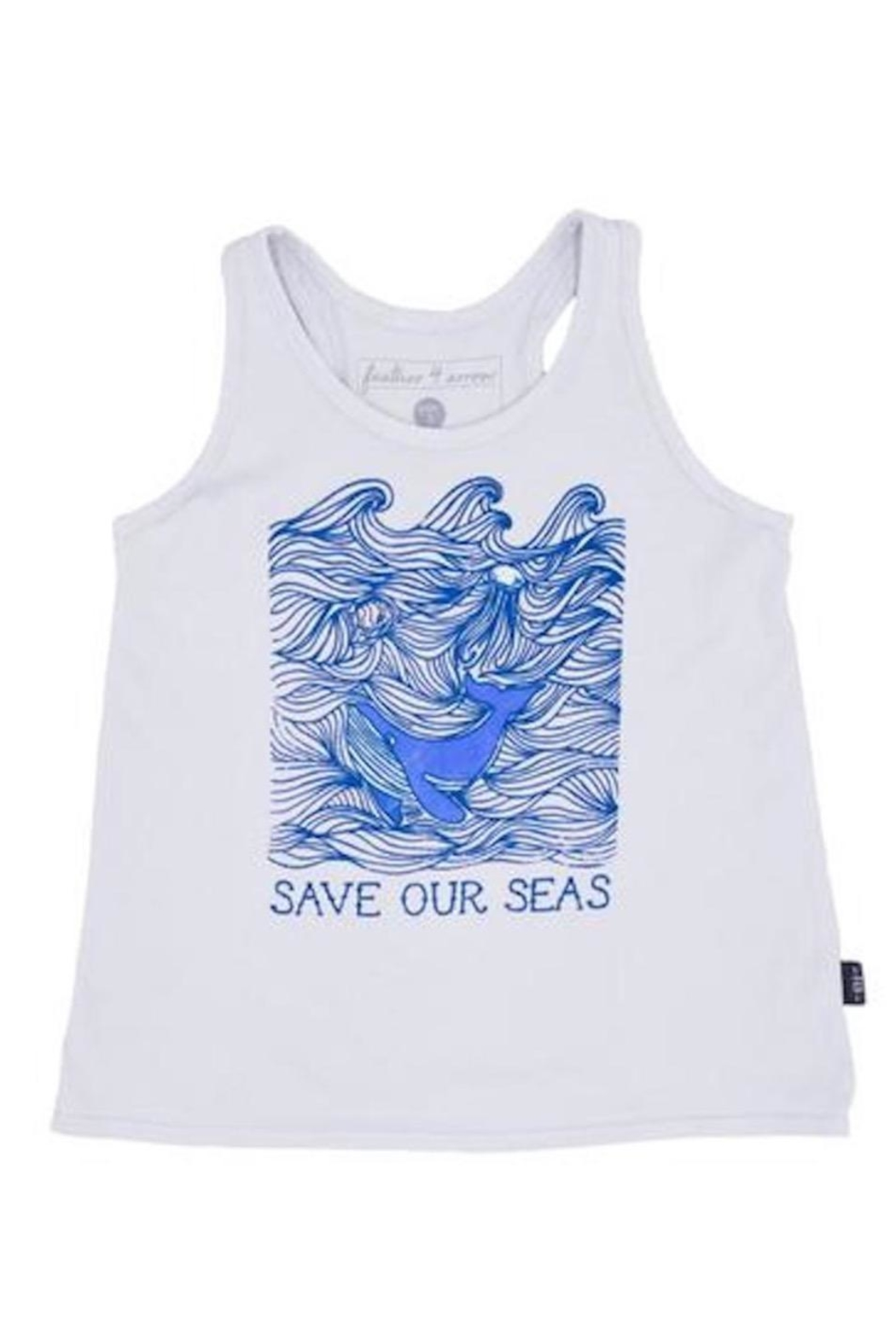 Feather 4 Arrow Save Seas Tee - Main Image