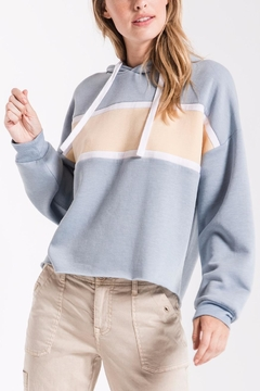 Shoptiques Product: Feathered Fleece Hoodie