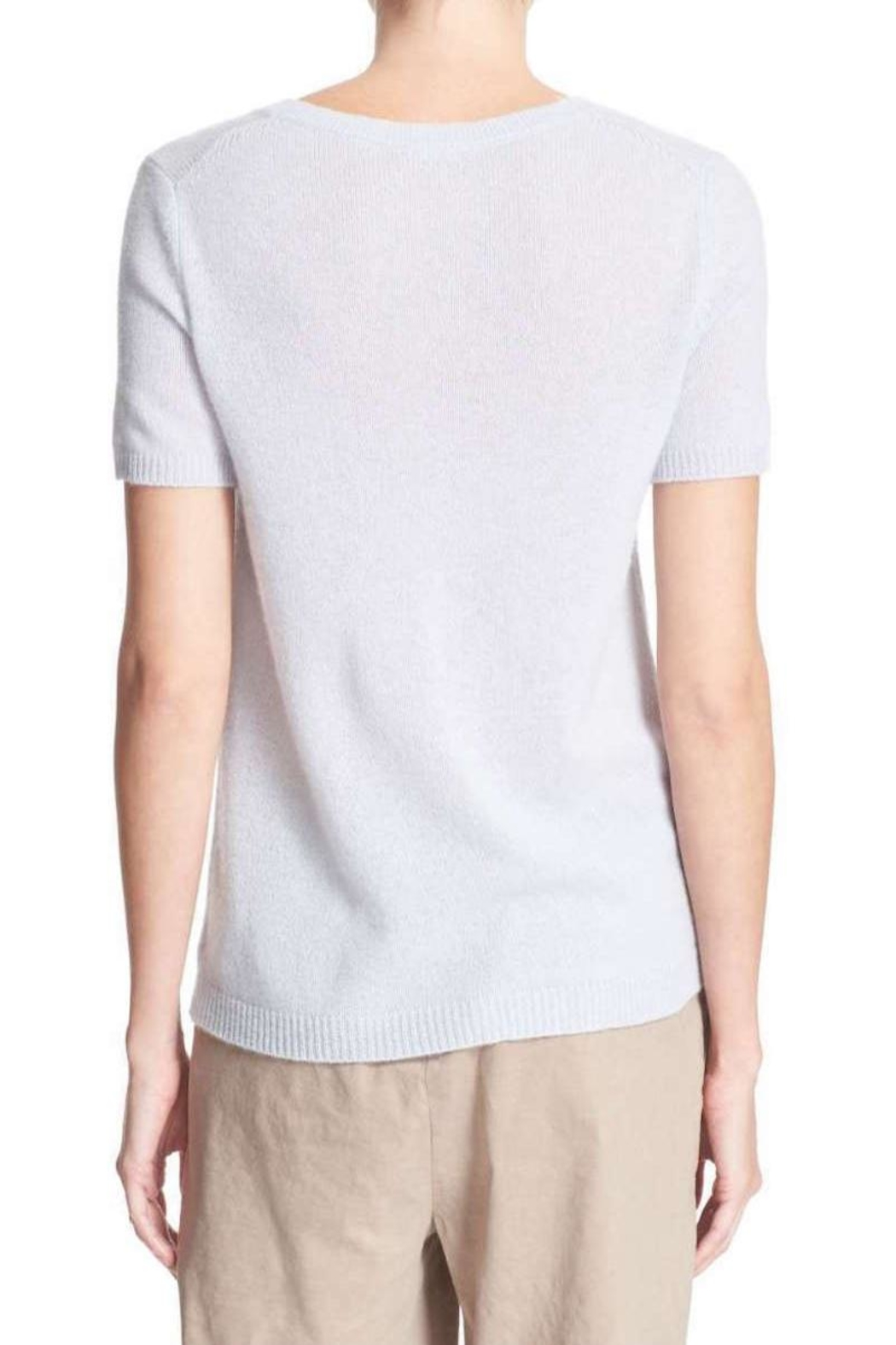 Theory Featherweight Cashmere Sweater - Front Full Image