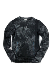 Appaman Feature Crewneck - Pewter Tie Dye - Product Mini Image