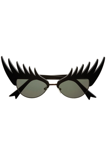 Shoptiques Product: Black Eyelashes Sunglasses - main
