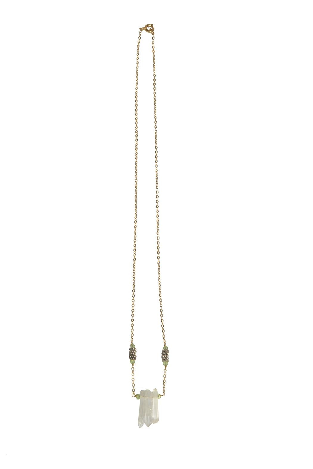Federika Padula Crystal Quartz Necklaces - Front Full Image