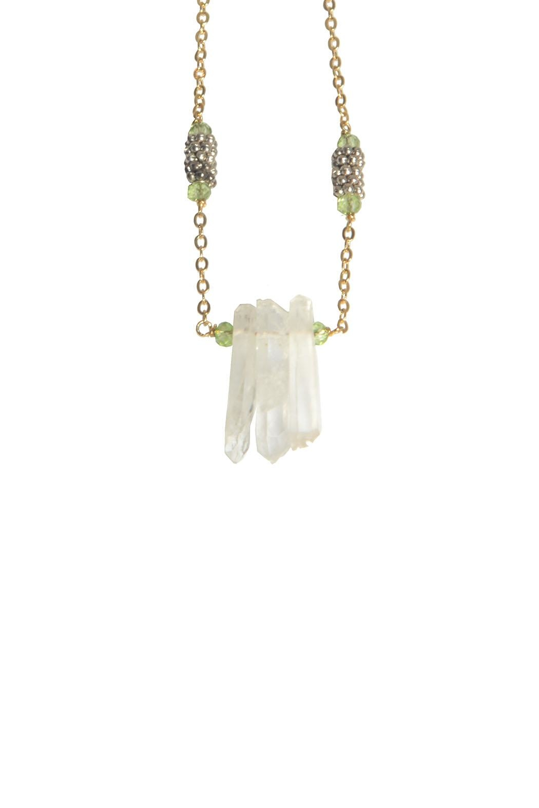 Federika Padula Crystal Quartz Necklaces - Front Cropped Image