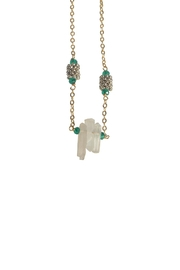 Federika Padula Small Crystal Quartz Necklaces - Front cropped