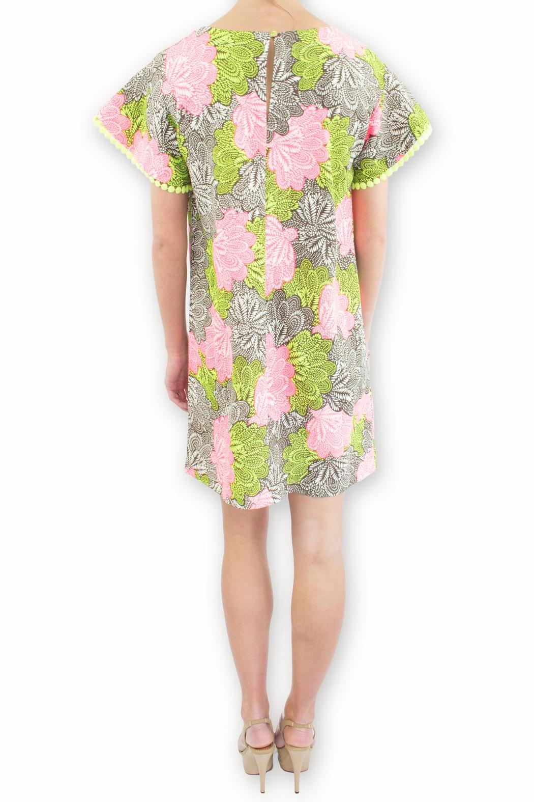 Uncle Frank Flower Power Dress - Side Cropped Image