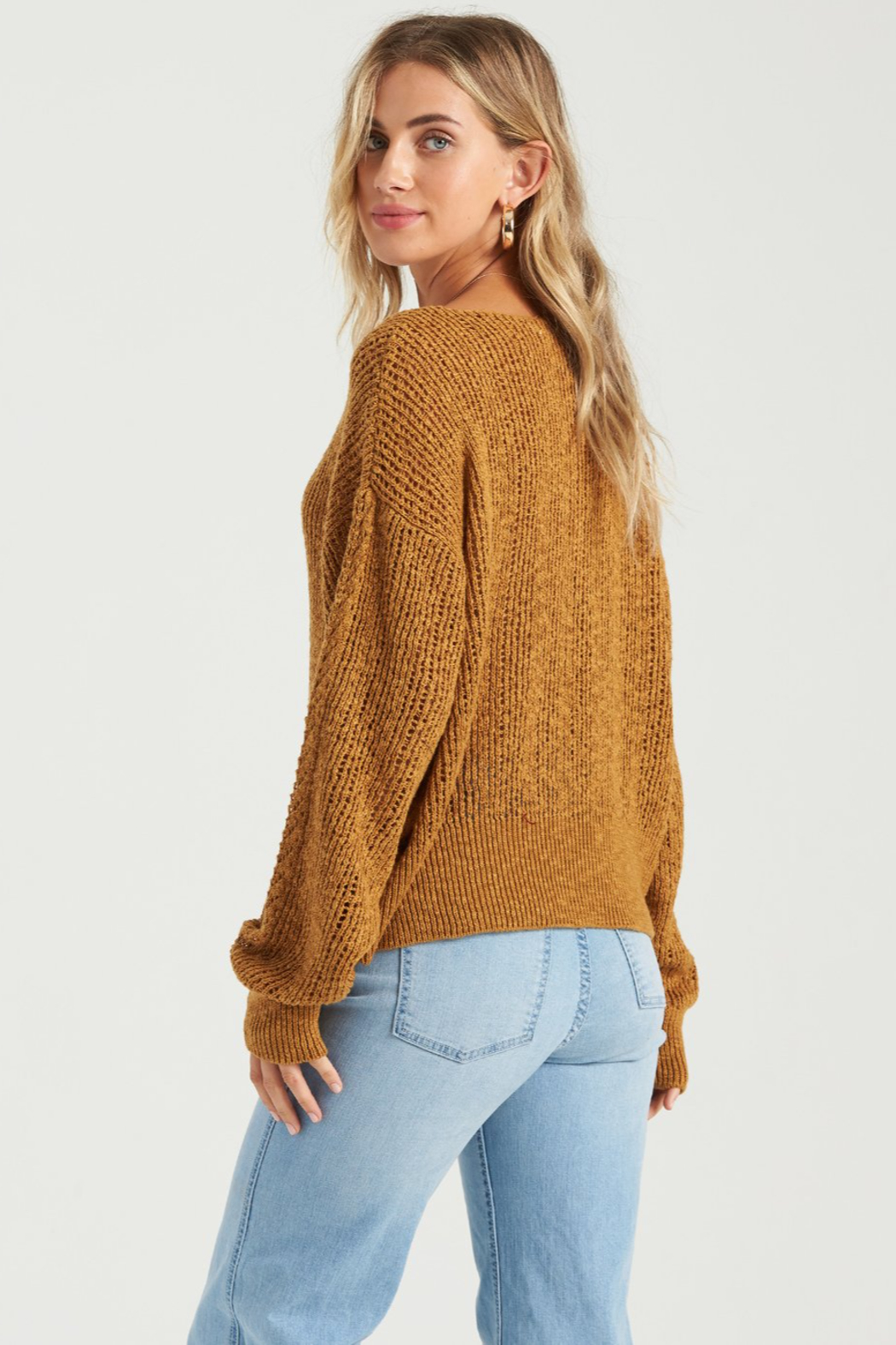 Billabong Feel The Breeze Sweater - Side Cropped Image