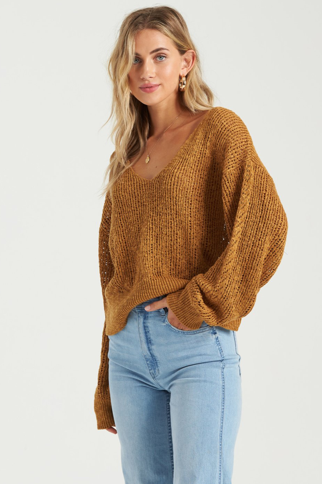 Billabong Feel The Breeze Sweater - Front Full Image