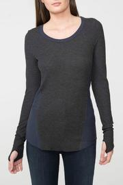 Feel the Piece Capri Thermal Top - Product Mini Image