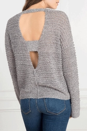 Feel the Piece by Terre Jacobs Hoover Sweater - Front full body