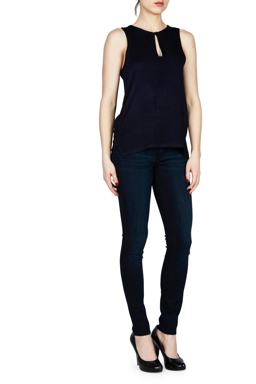 Feel the Piece by Terre Jacobs Peek-A-Boo Top - Front Cropped Image