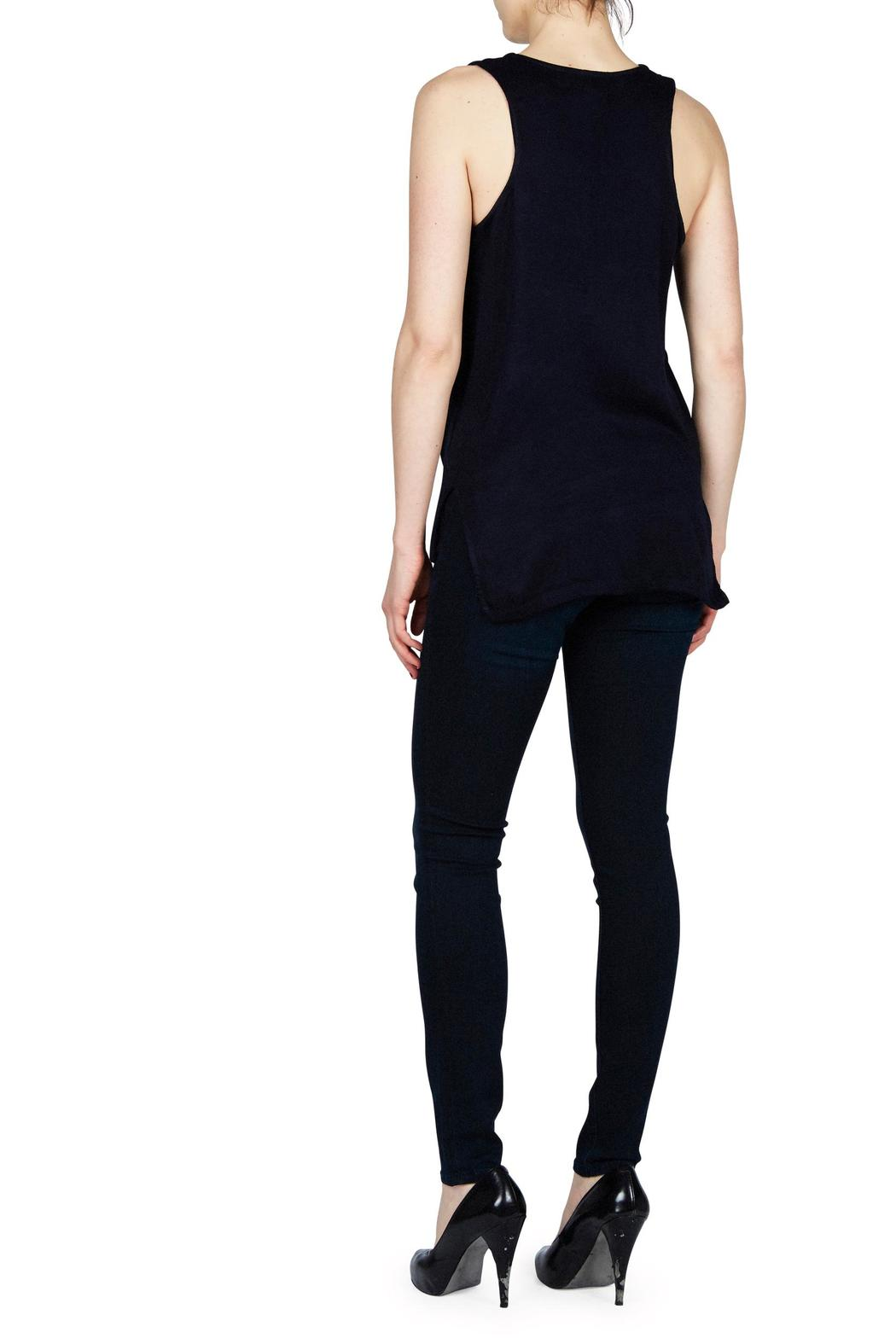 Feel the Piece by Terre Jacobs Peek-A-Boo Top - Front Full Image