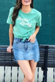 Bella Canvas Feelin' Lucky Tshirt - Product Mini Image