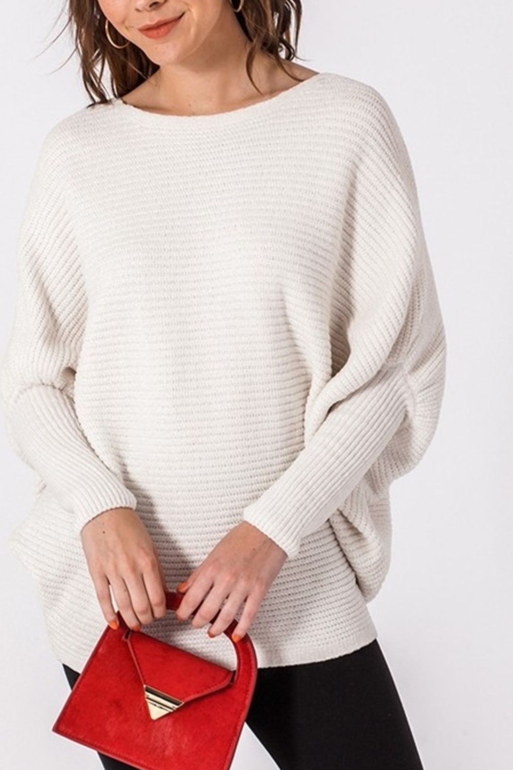 HYFVE Feeling Cozy sweater - Front Cropped Image