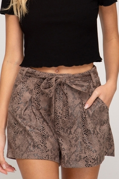 Shoptiques Product: Feeling Fall Shorts