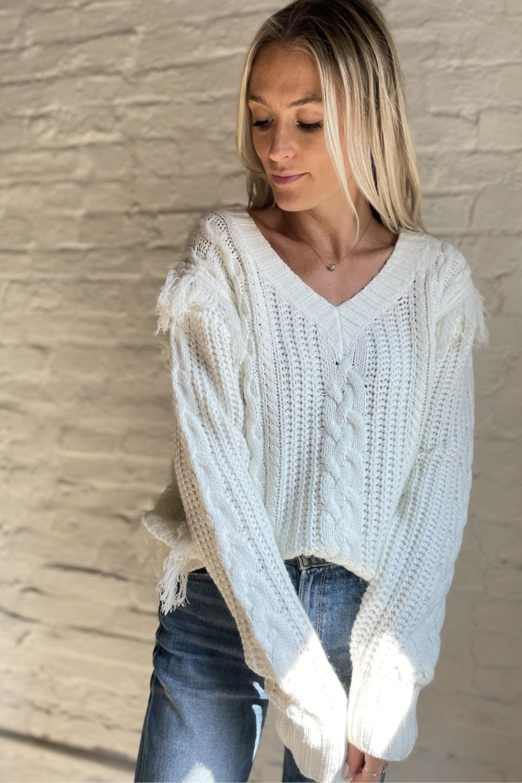 Six Fifty Feeling Fine Sweater - Front Full Image