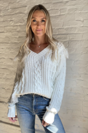 Six Fifty Feeling Fine Sweater - Front cropped