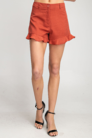 Glam Apparel Feeling Flirty Shorts - Product Mini Image