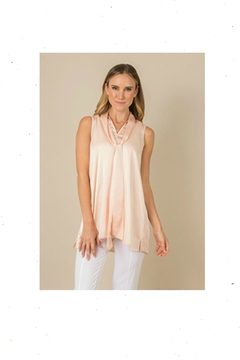 Simply Noelle Feeling-Flirty Tie-Neck Top - Product List Image