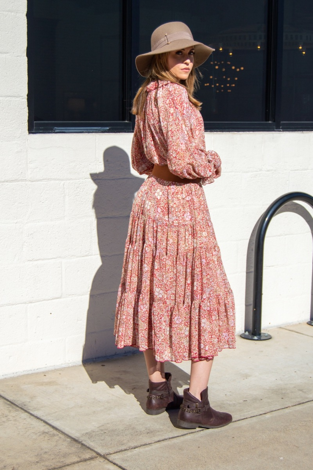 Free People Feeling Groovy Maxi - Side Cropped Image