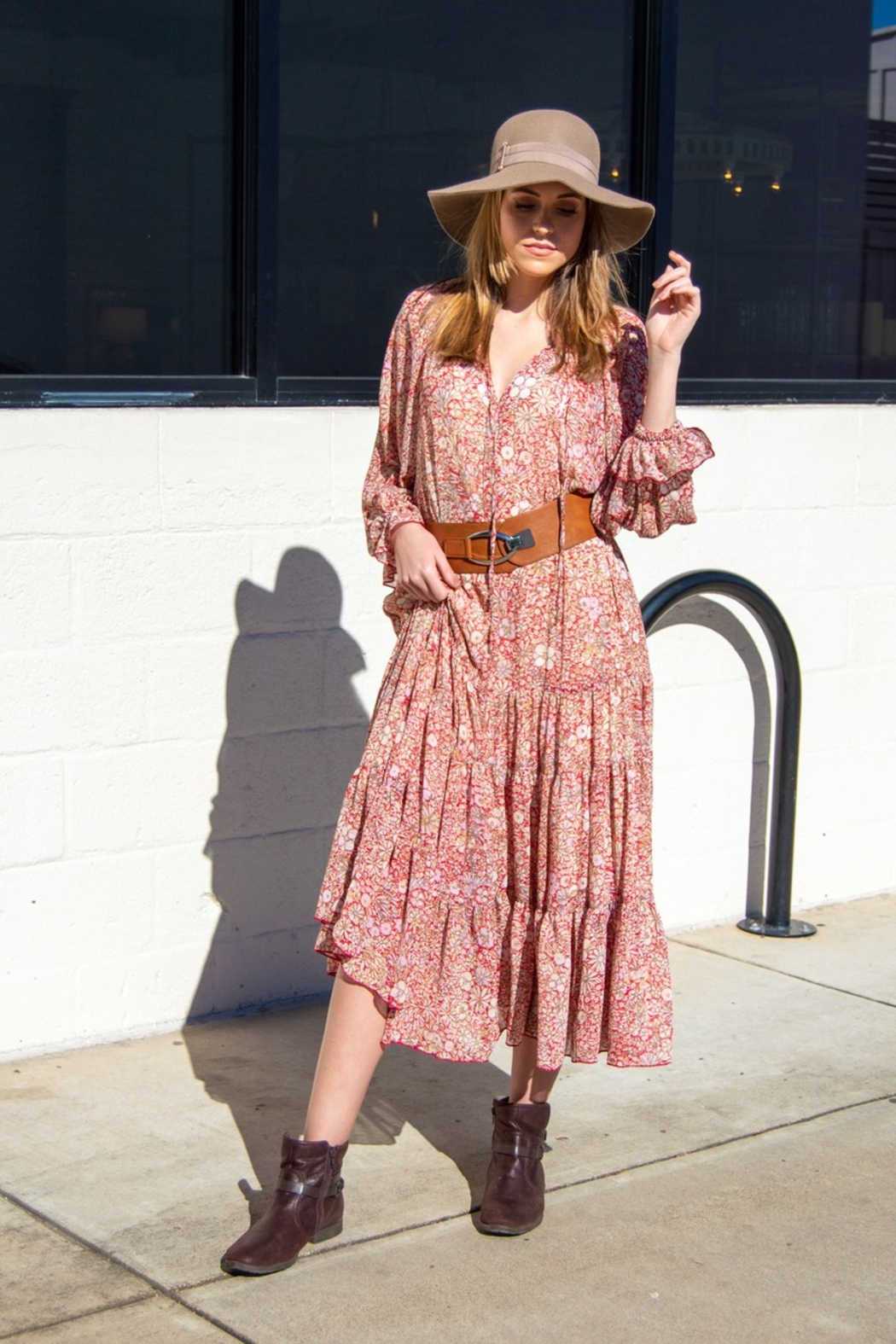 Free People Feeling Groovy Maxi - Front Full Image