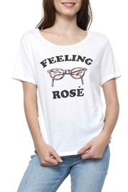 social sunday Feeling Rose T-Shirt - Front cropped