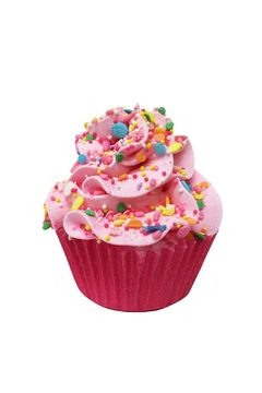 Shoptiques Product: Large Pink Cupcake Bath Bomb