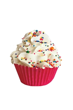 Shoptiques Product: Large Vanilla Cupcake Bath Bomb