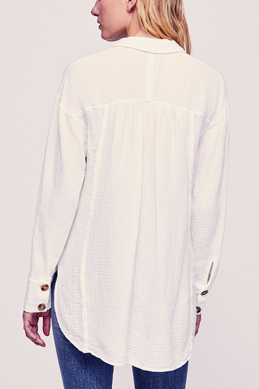 Free People Feels Buttondown - Back Cropped Image
