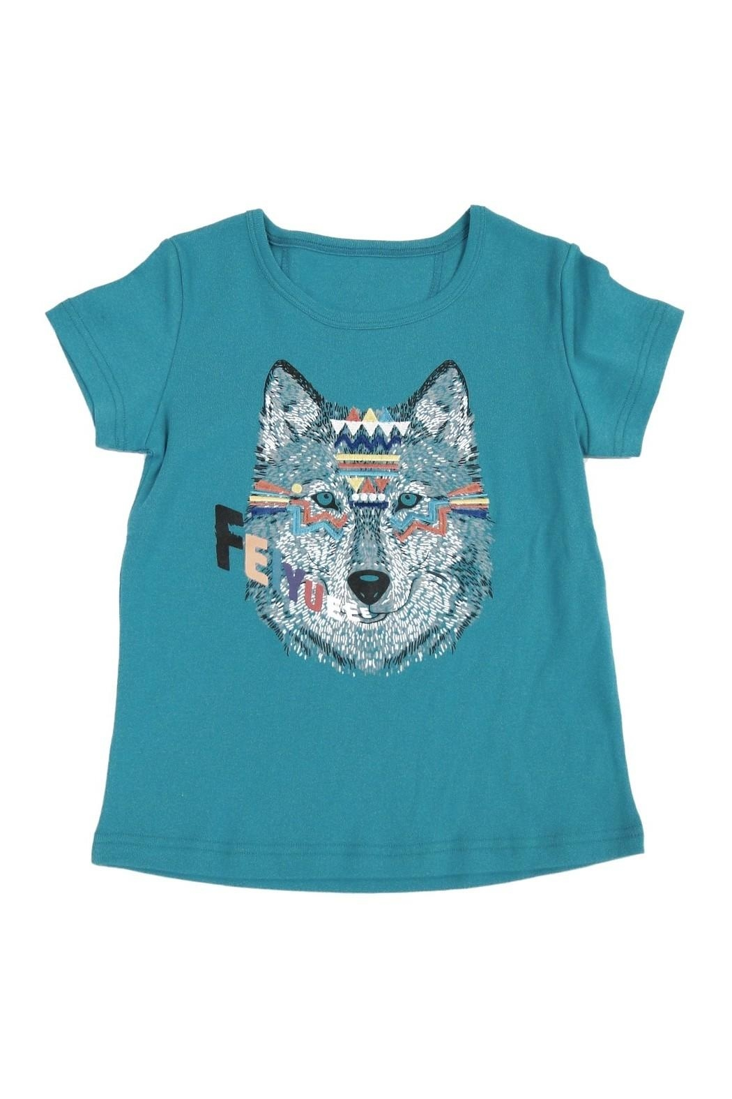 Feiyue Wolf Tee - Front Cropped Image