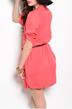 Feline Coral Tunic Dress - Alternate List Image
