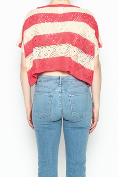 Feline Stripe Crochet Top - Alternate List Image