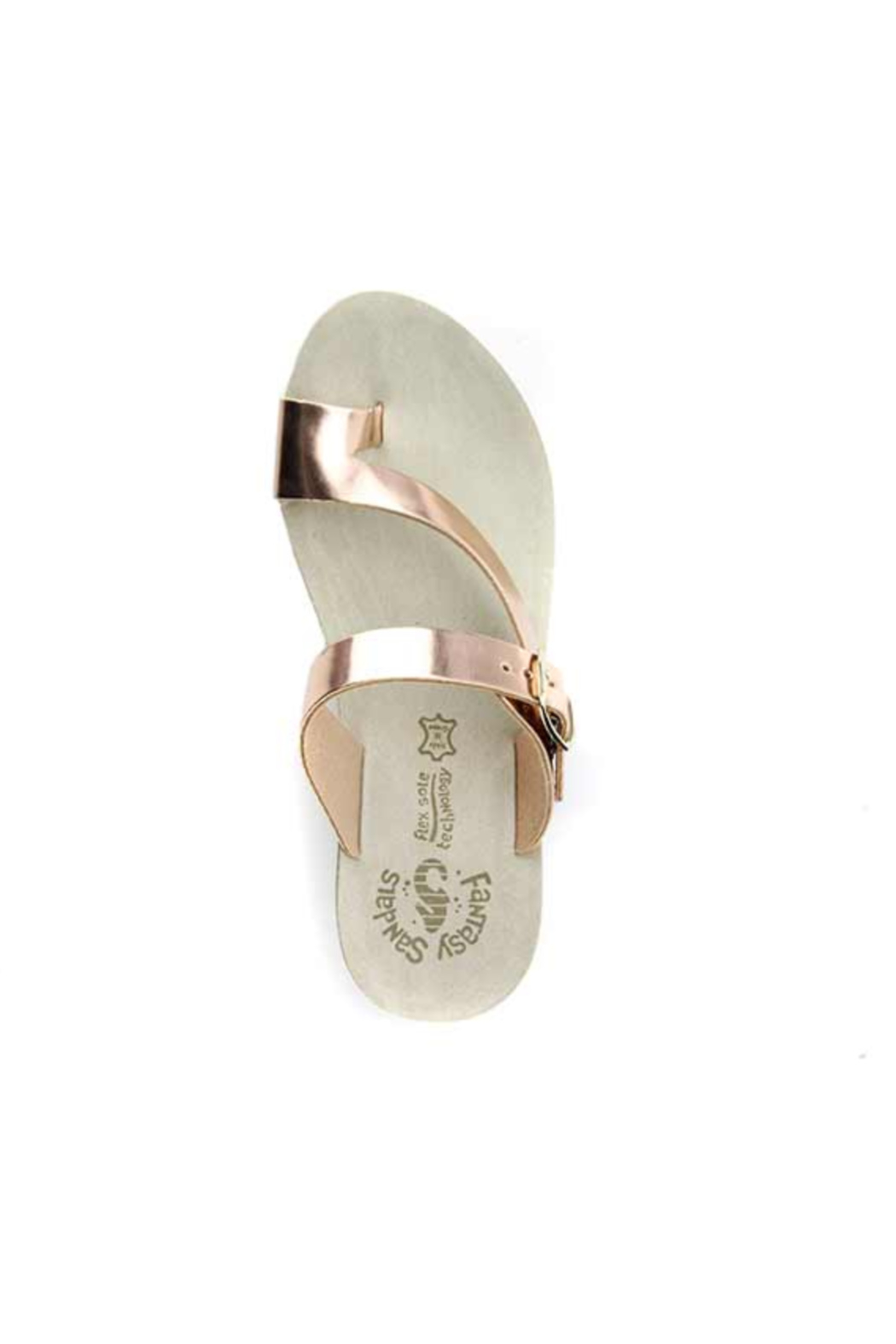 Sole Mio Felisa Wedge Sandal - Back Cropped Image